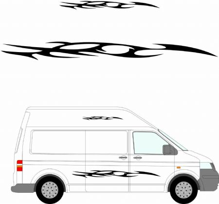 (No.153) MOTORHOME GRAPHICS STICKERS DECALS CAMPER VAN CARAVAN UNIVERSAL FITTING